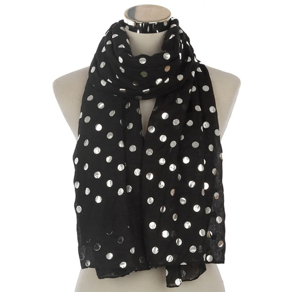 Amazing Dots Scarves For Ladies - Wish Epic