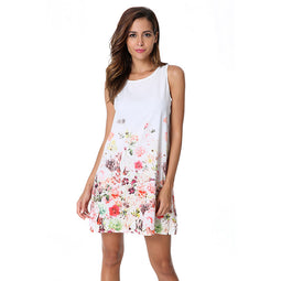 Cherry Blossom Summer Dress For Women