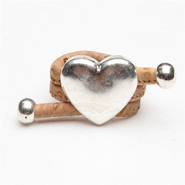 Love Heart Cork Rings - Wish Epic