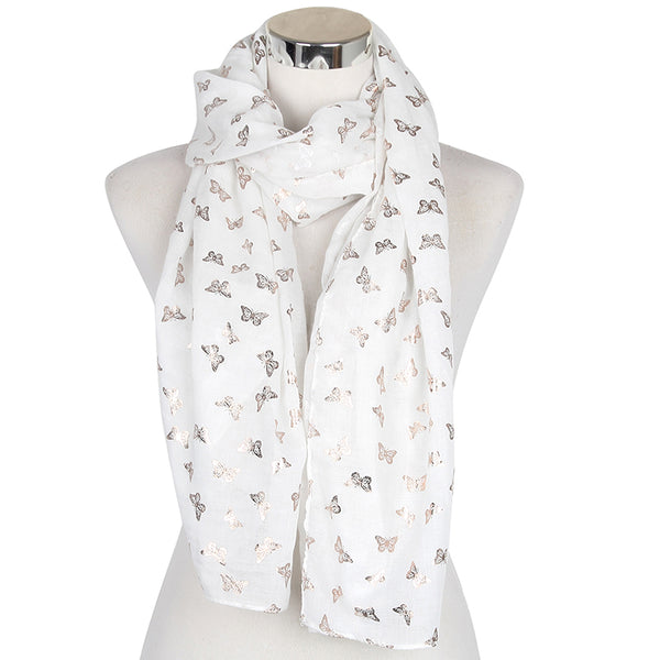 Elegant Butterflies Scarves For Ladies - Wish Epic