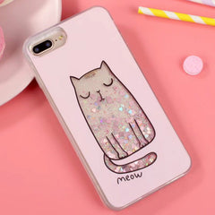 Meow Sleepy Kitty Case For iPhone Phones