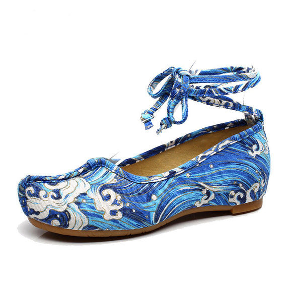 Blue Sea Summer Shoes For Ladies - Wish Epic