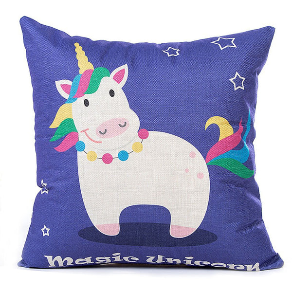 Playful Unicorns Pillow Cases - Wish Epic
