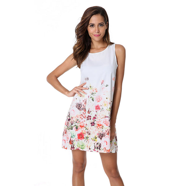 Cherry Blossom Summer Dress For Women - Wish Epic