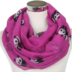 Panda Scarves For Ladies