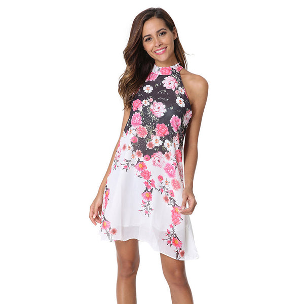 Butterflies and Flowers Summer Dresses For Women - Wish Epic