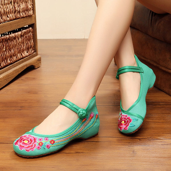 Beautiful Summer Rose Shoes For Ladies - Wish Epic