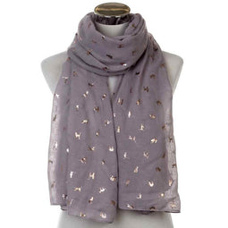 Fashionable Ladies Cat Scarfs - Long & Loop