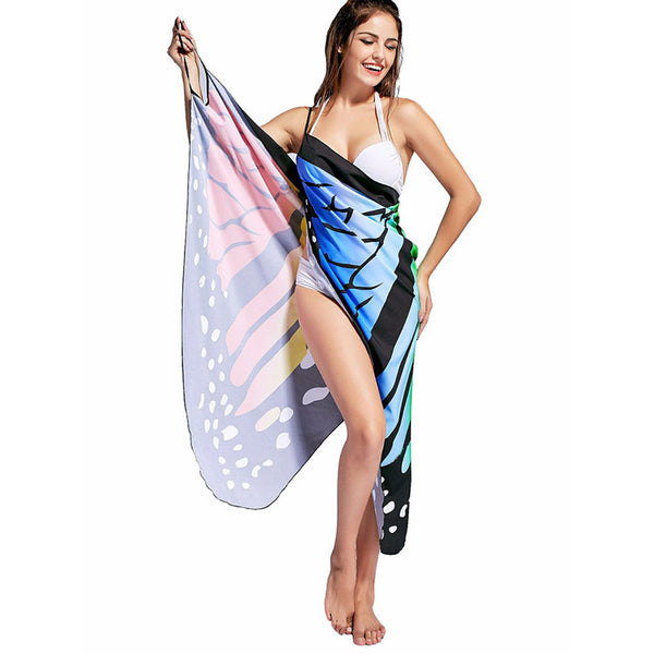 Empire Butterfly Beach Dress - Wish Epic