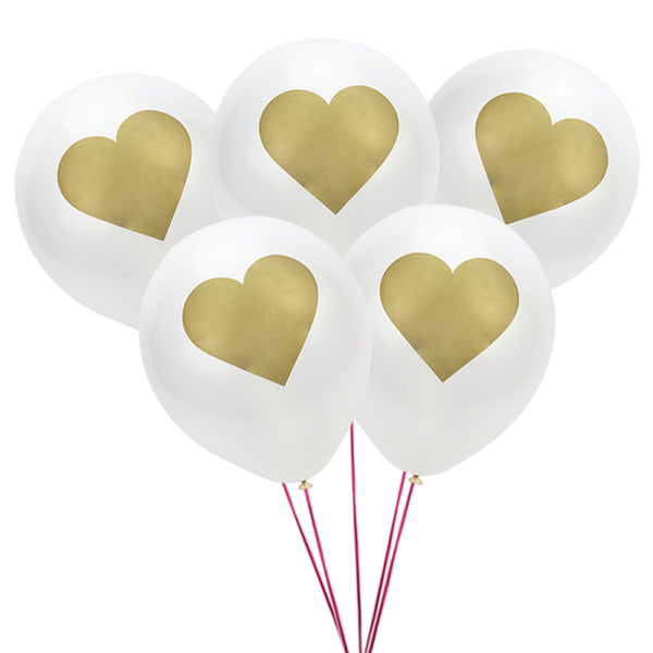 20 pcs Party Decoration Unicorns & Hearts Balloons - Wish Epic
