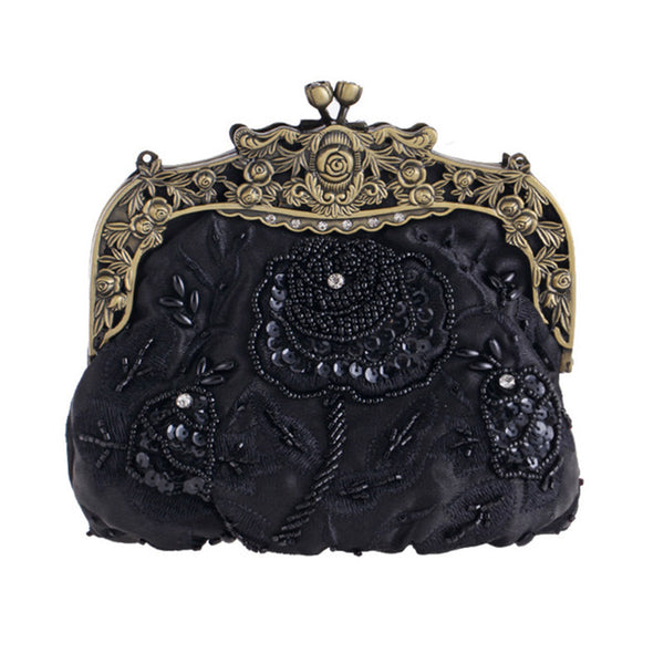 Gorgeous Flower Women's Evening Clutch Bag - Wish Epic