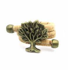 Antique Tree Of Life Cork Rings