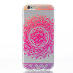 Amazing Mandala Soft Cases For iPhones