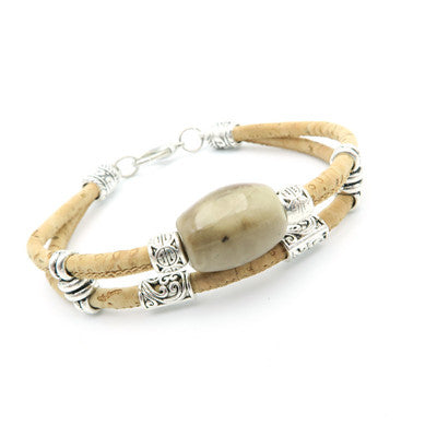 Beautiful Ceramic Beads Cork Bracelets - Wish Epic