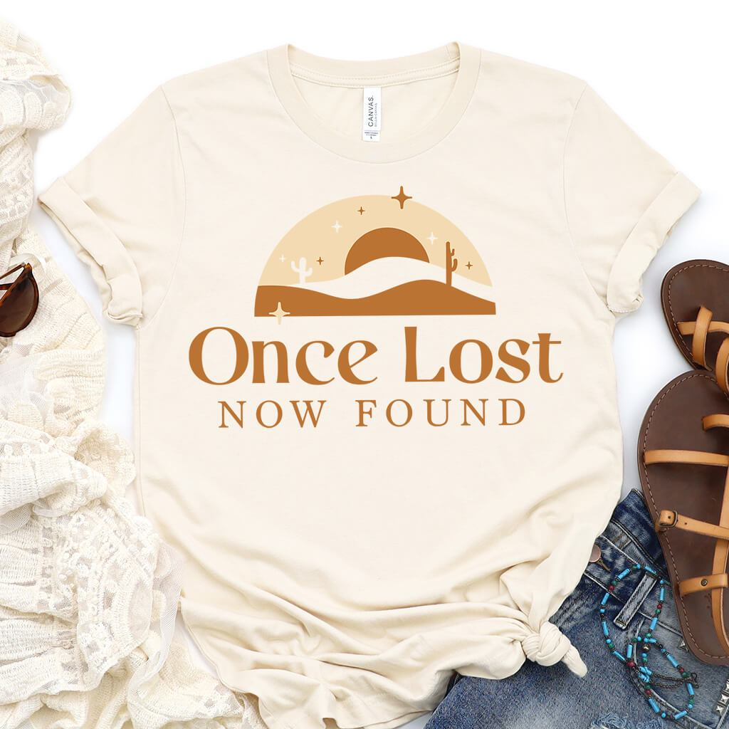 Once Lost Now Found Shirt