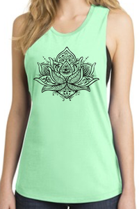 "Women's ""I Spy With My Lotus Eye"" Festival Tank"