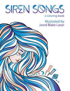 Siren Songs Coloring Book BACK IN STOCK!