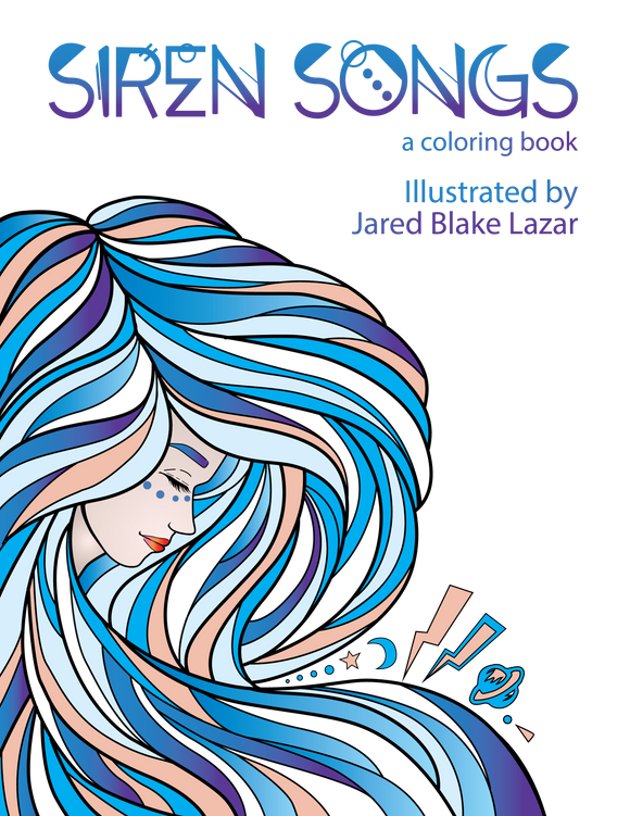 Siren Songs Coloring Book