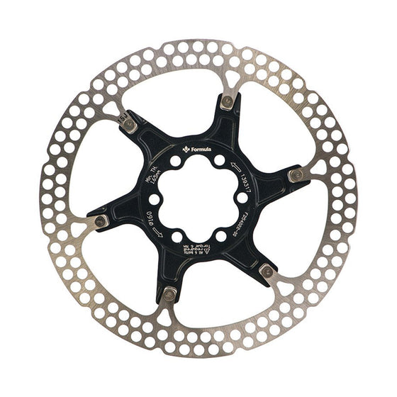 Formula Disc Rotor Two-Piece, Black - Alba Distribution
