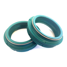 Ø35mm SKF Fork dust seals and foam rings (35/Selva/Nero) - Alba Distribution