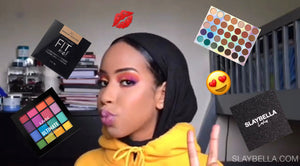 Makeup Tutorial: Colorful Eyeshadow Featuring Our Slaybella Lashes
