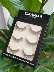 Natural Faux Mink Lashes (3 Pairs)
