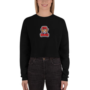 Girl Power Fleece Crop Sweatshirt