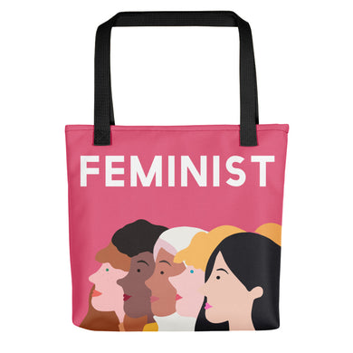 Feminist Faces Tote Bag