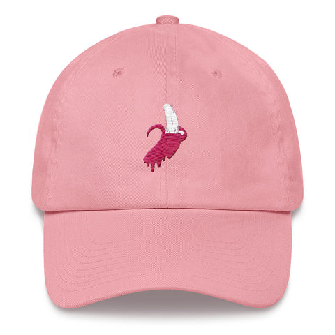 Pink Banana Dad Cap