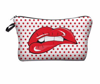 Cosmetic Bag- Lips