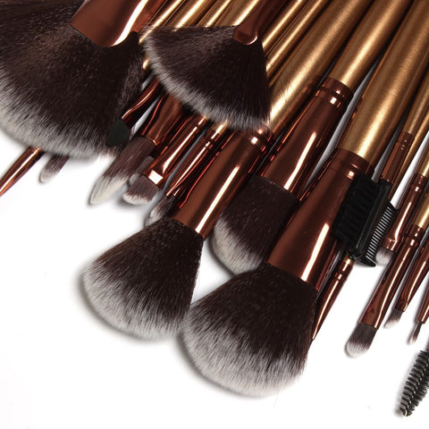 Goat Hair Make-up Brush Set