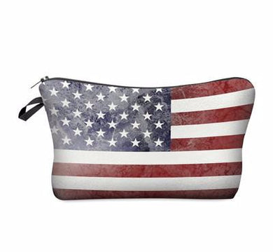 Cosmetic Bag- Flag