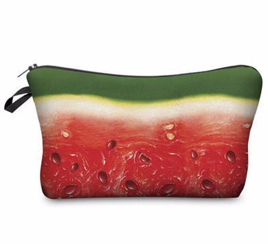 Cosmetic Bag- Watermelon