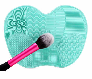 Silicone Cosmetic Makeup Brush Cleanser Mat