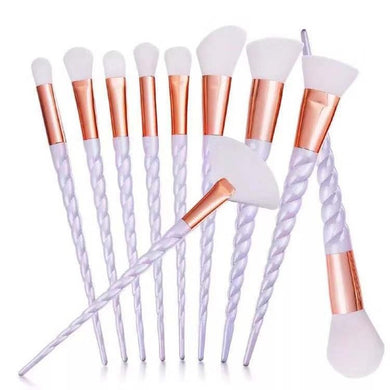 Unicorn Spiral Brush Set (10 Pieces)