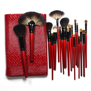 Pony Hair Brush Set with Organizer