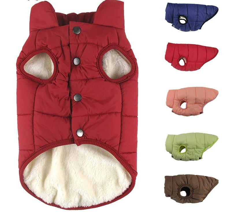 Winter pet coat clothes