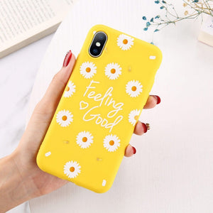 Flowers Phone Case For iPhone