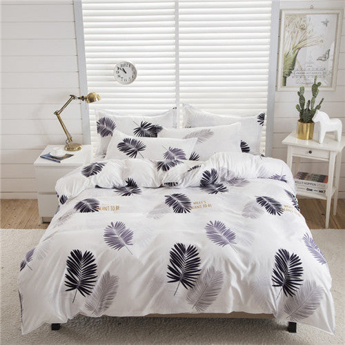 bedding 4pcs flat sheet set