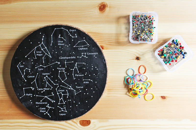Create Your Own Constellation Geoboard