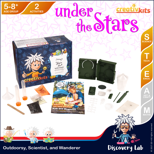 Sep Standard Science & Tech. Kit • Age 5 plus • Learn Survival Science and MYO 3in1 Slime