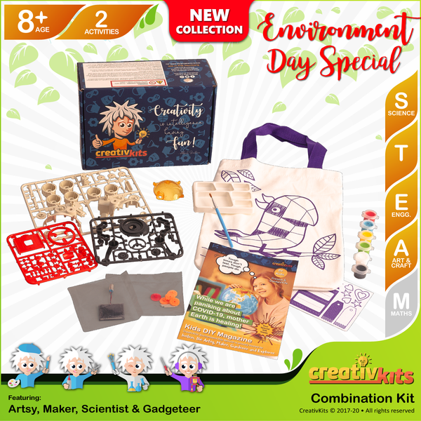 May Standard Combo Kit • Age 8 plus • BYO Solar Rover and Design Reusable Bag