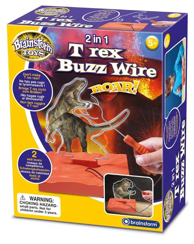 2 in 1 T-Rex Buzz Wire Kit