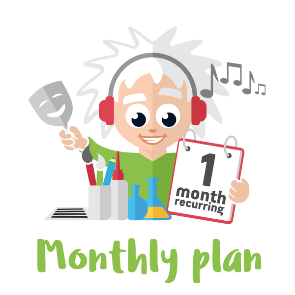 Monthly Plus Plan - 4 Premium Activities on a month-on-month Plan