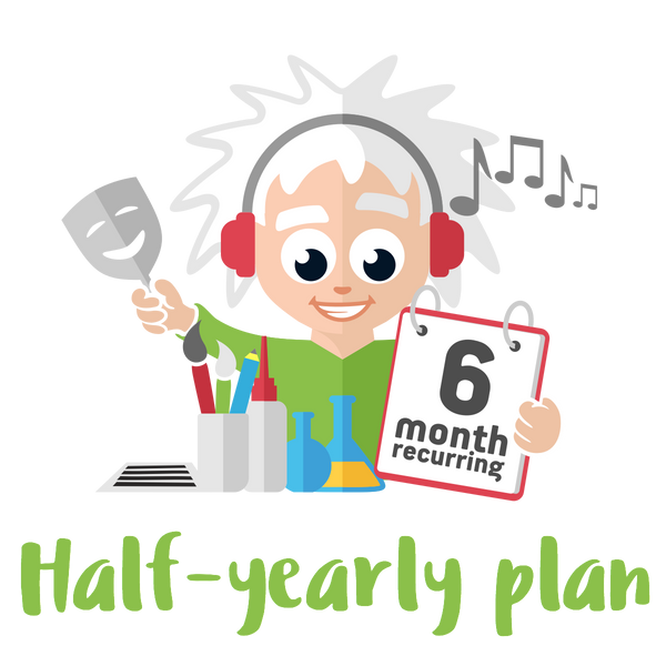 Half-yearly Plus Plan - 4 Premium Activities on a 6 month Plan