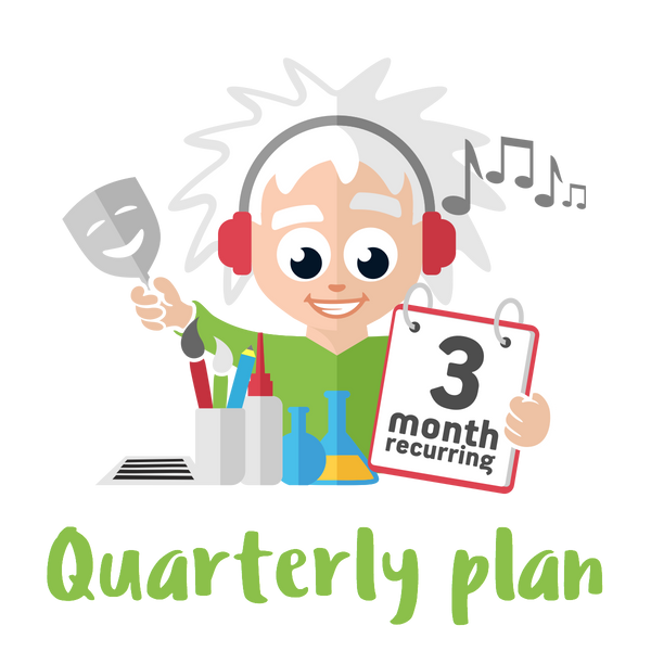 Quarterly Plus Plan - 4 Premium Activities on a 3 month Plan