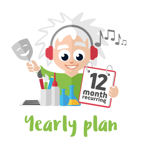 Yearly Premium Plan - 4 Premium Activities on a 12 month Plan