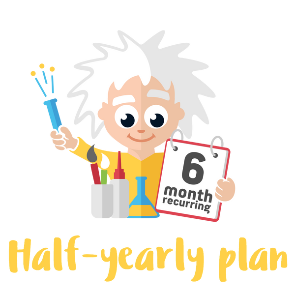 Half-yearly Standard Plan - 2 Premium Activities on a 6 month Plan