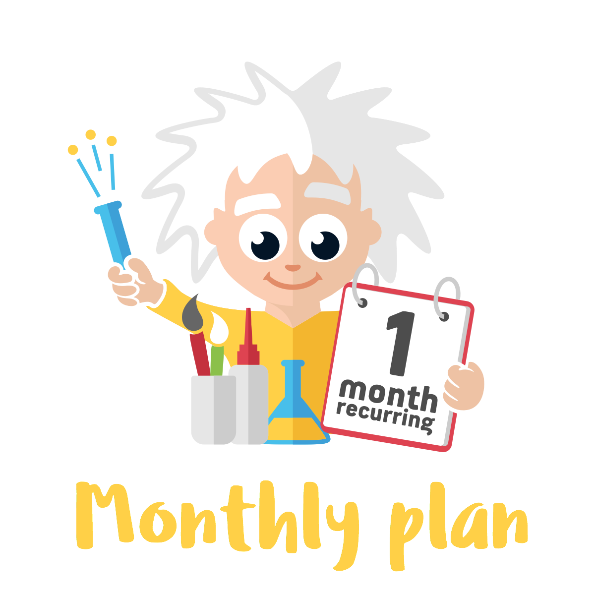 Monthly Standard Plan - 2 Premium Activities on a Month-on-Month Plan