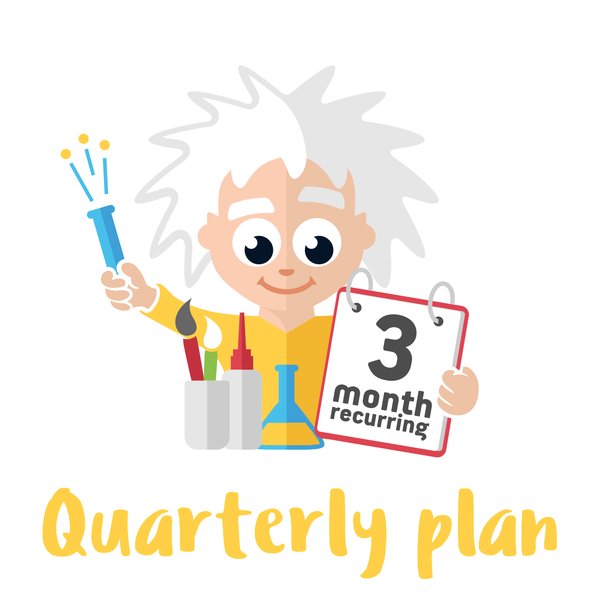 Quarterly Standard Plan - 2 Premium Activities on a 3 month Plan